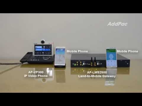 AP-LMS2500 16-Port Bluetooth VoIP Gateway  Demonstration | AddPac
