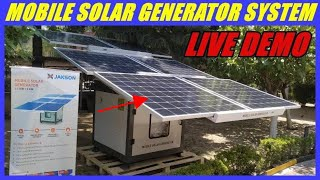 MOBILE SOLAR GENERATOR INDIA PRICE// Portable solar generator//Solar generator price in india.