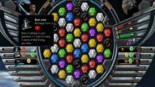 Puzzle Quest Galactrix PC Gameplay