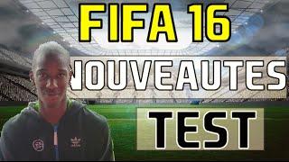 FIFA 16 TEST ET NOUVEAUTES