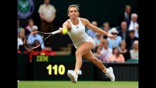 Simona Halep vs C Garcia Montreal highlights 2nd set