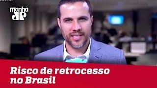 Maior risco de retrocesso no Brasil continua sendo eventual soltura de Lula | Felipe Moura Brasil