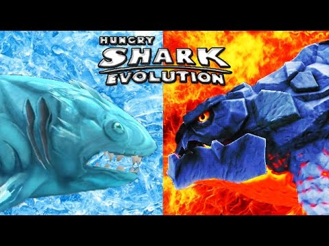 Hungry Shark Evolution - Big Daddy vs Megalodon   Doovi