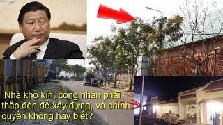 """""""Căn cứ bí mật Trung Quốc"""" xây đựng trong nhà kho kín của Hoàng Anh Gia Lai ???"""