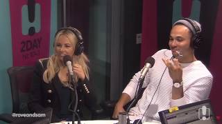 (Video) 17/11/16 - Samantha Jade & Cyrus - The Rove and Sam Catch Up - 104.1 2Day FM - Sydney
