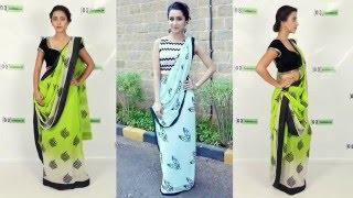 How to Wear Bollywood Saree like Shraddha Kapoor