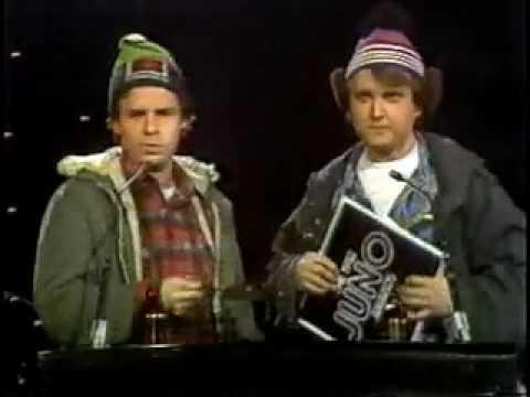Bob and Doug at the 1982 Juno awards