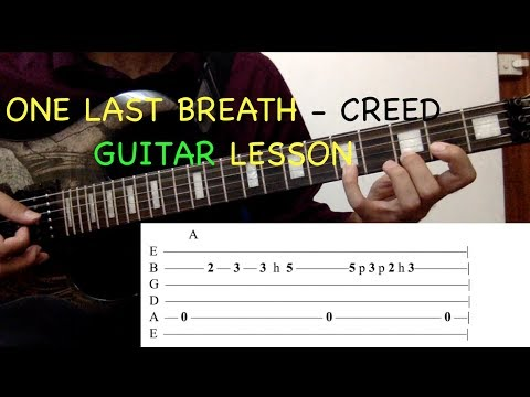 One Last Breath Guitar Lesson Creed Free MP3 Download – Free MP3 ...