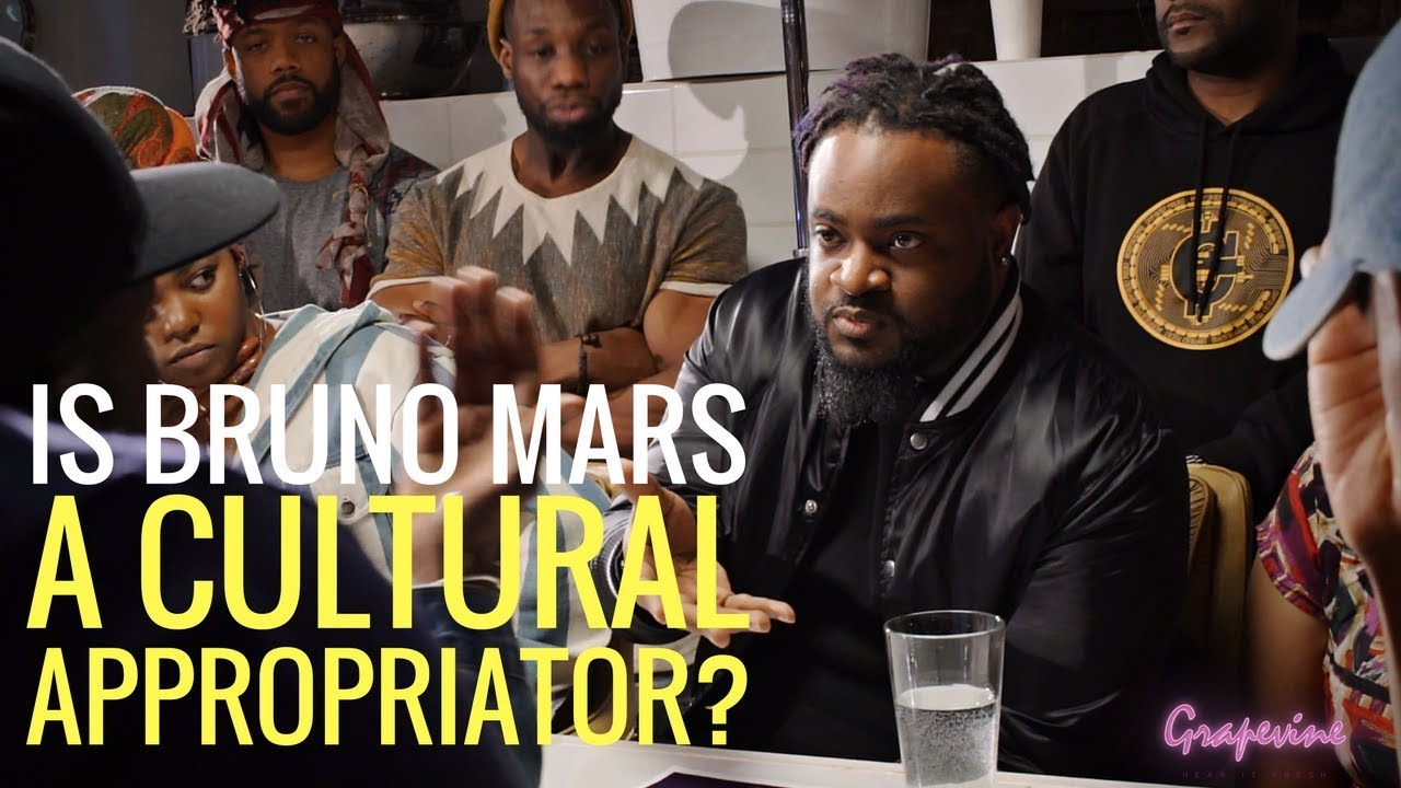 THE GRAPEVINE | IS BRUNO MARS A CULTURAL APPROPRIATOR?