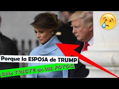 MIRA la ESCALOFRIANTE razón por qué la ESPOSA de Trump siempre sale TRISTE en las fotos…