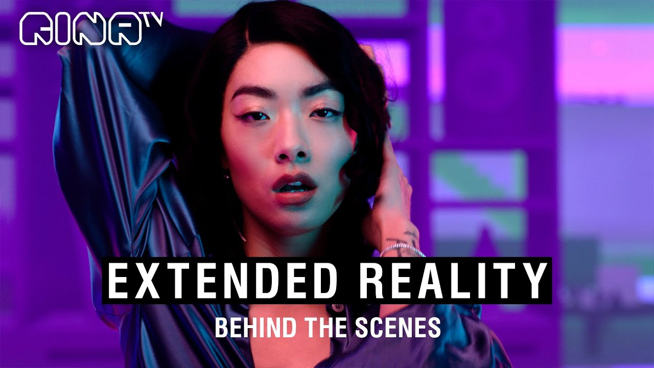 🧡 Behind the scenes of LUCID EXTENDED REALITY VIDEO (crazy technology!) | Rina Sawayama 🧡