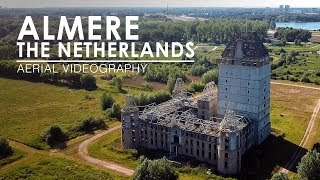 Birds view of Almere, The Netherlands   Aerial Videography [4K, 50fps]