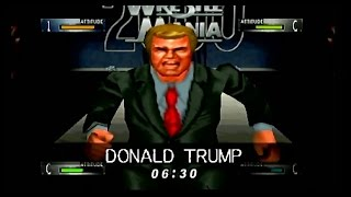 Created Wrestler Battle Royal - WWF WrestleMania 2000 - N64 Gameplay