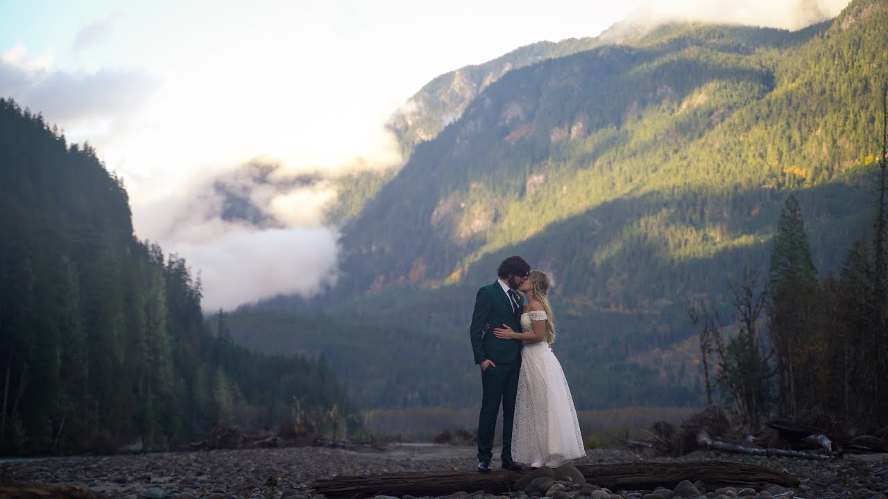 Squamish Helicopter Elopement | Chrissy & Alec | Teaser