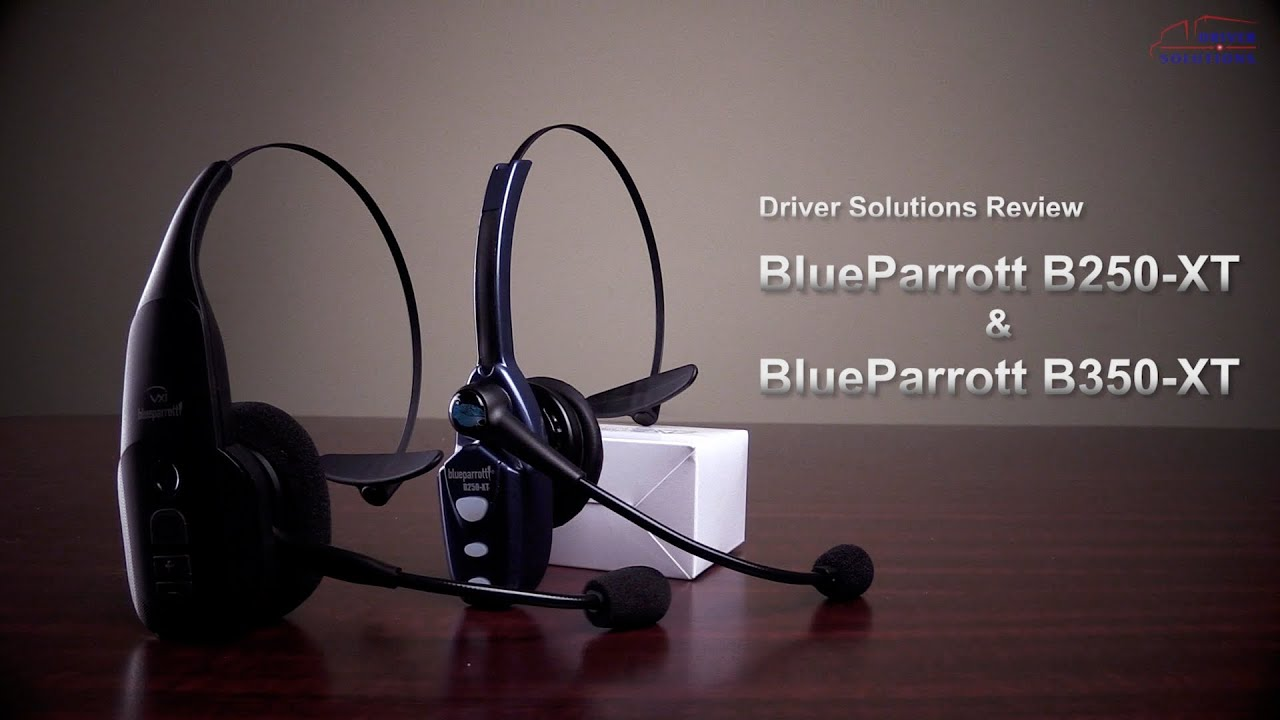 a19f1b32feb Review: BlueParrott B250-XT vs. BlueParrott B350-XT - YouTube