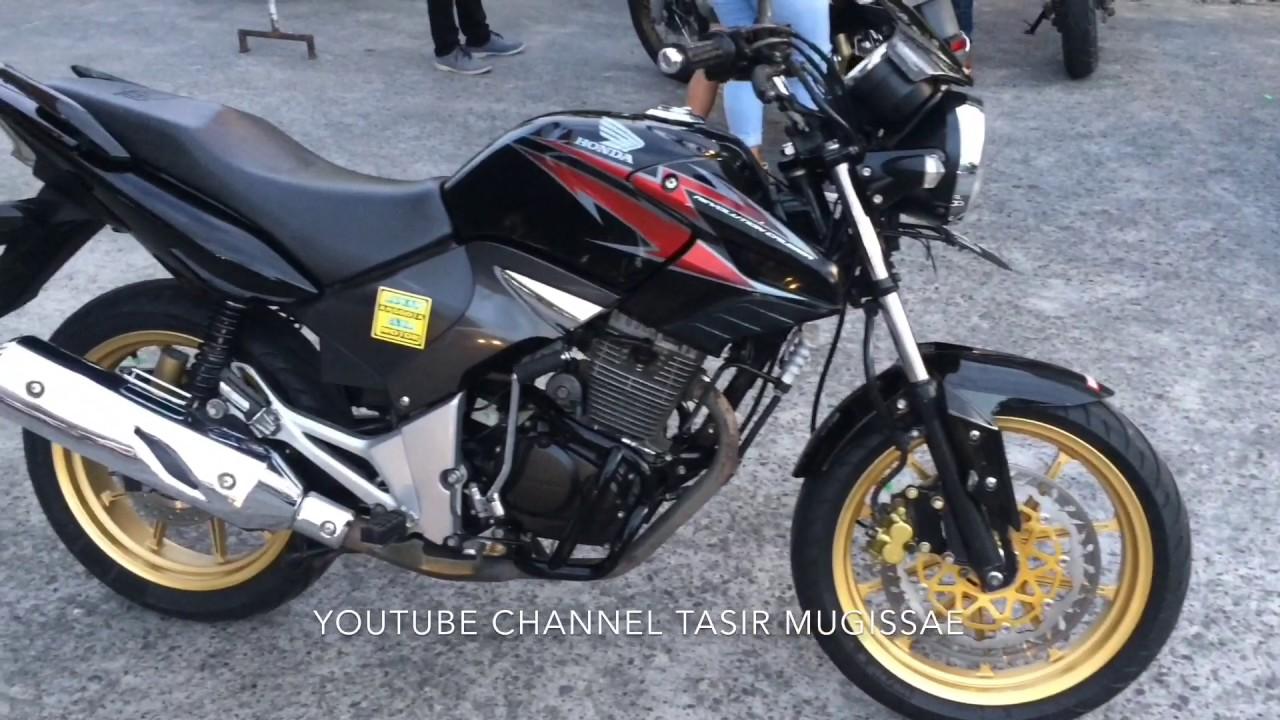 Honda Tiger Modif Minimalis Elegan