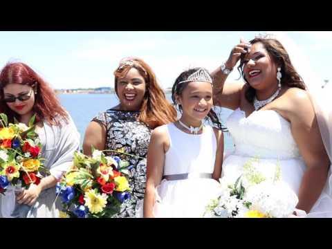 Eva & Hiram Wedding Film | Spirit of Norfolk Cruise | Norfolk VA