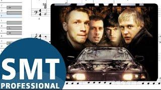 Как играть на аккордеоне Мобильник (из к/ф Бумер)   How to play Boomer on accordion   SMT Pro