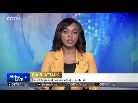 One peacekeeper killed, four missing following ambush