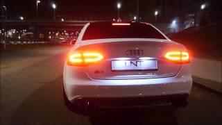 アウディ Audi S4 Sedan | Armytrix可変バルブマフラー | 高周波サウンド 快音