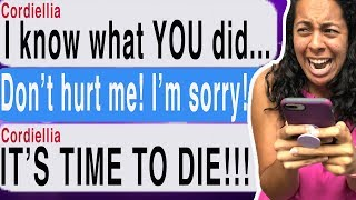 She Wants REVENGE For What I DID!!! (Cliffhanger Doppelgänger #3 | Tap Scary Text Message Story)