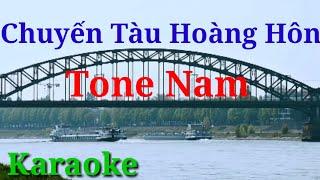 Karaoke Chuyến tàu hoàng hôn[Tone Nam]