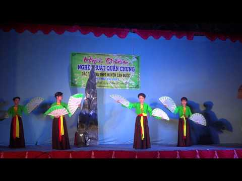 Hát múa Hòn vọng phu trường THPT Cần Đước- dàn dựng Khánh Nam