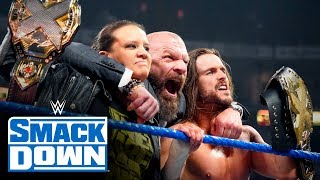 Triple H declares war on behalf of NXT: SmackDown, Nov. 1, 2019