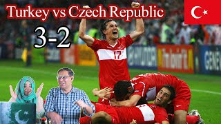 Turkey vs Czech Republic 3 2 All Goals highlights UEFA Euro 2008 Pakistani Reaction