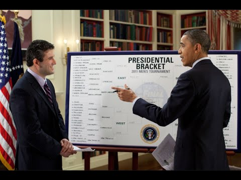 President Obama Visits ESPN To Fill Out His NCAA Brackets - IDIOCRACY ALERT