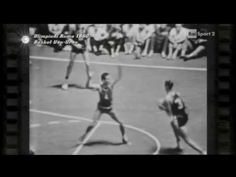 1960 Olympics basketball   USSR vs USA