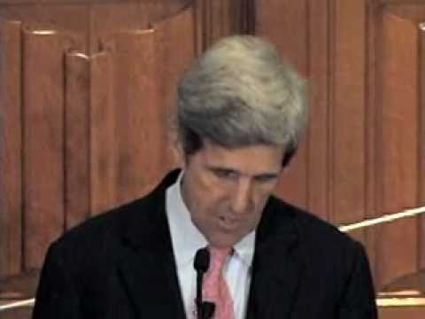 Loving God and Neighbor in Word and Deed: Sen. John Kerry