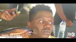 Angalia rayvany alivyowachekesha wa Angola (Behind the scene) NsokiXRayvanny - African Sunrise Part1