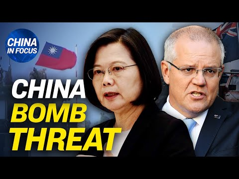 China media head threatens Australia w/ missiles; China records slowest population growth in decades