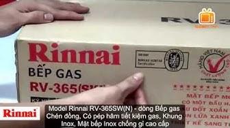 Bếp Ga Rinnai RV-365SW(N) l Rinnai Việt Nam l Rinnai Nhập Khẩu