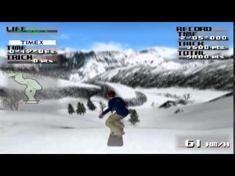 PS2 Cool Boarders Code Alien SLPS-25022 GamePlay PSXPLANET.RU RU