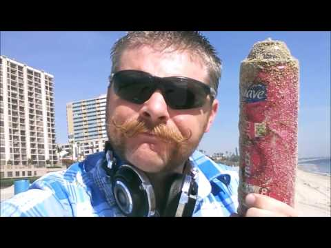 Metal detecting Long Beach California Typical Day at the Beach
