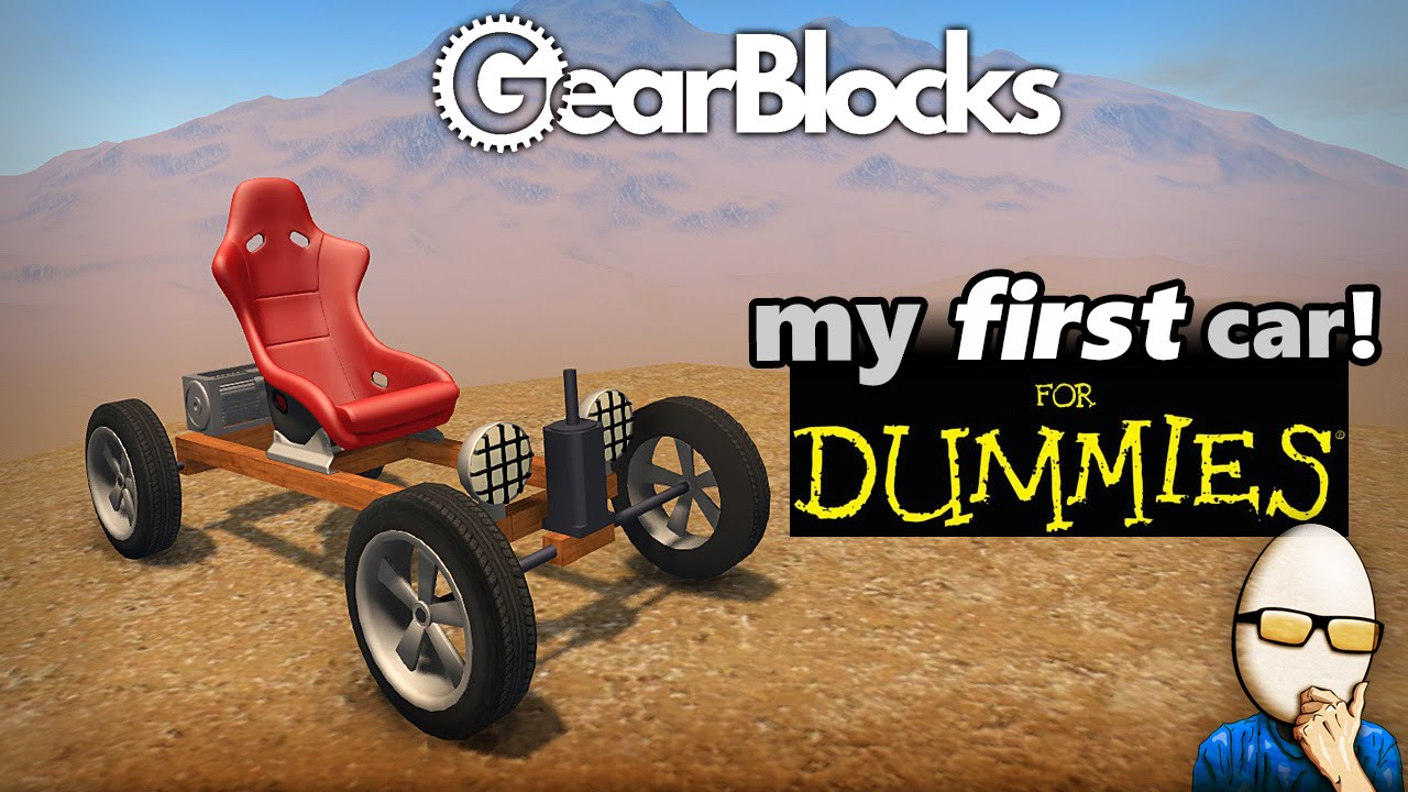 Build A Car Game >> GearBlocks Alpha - My First Car! (for Dummies) - Physics ...