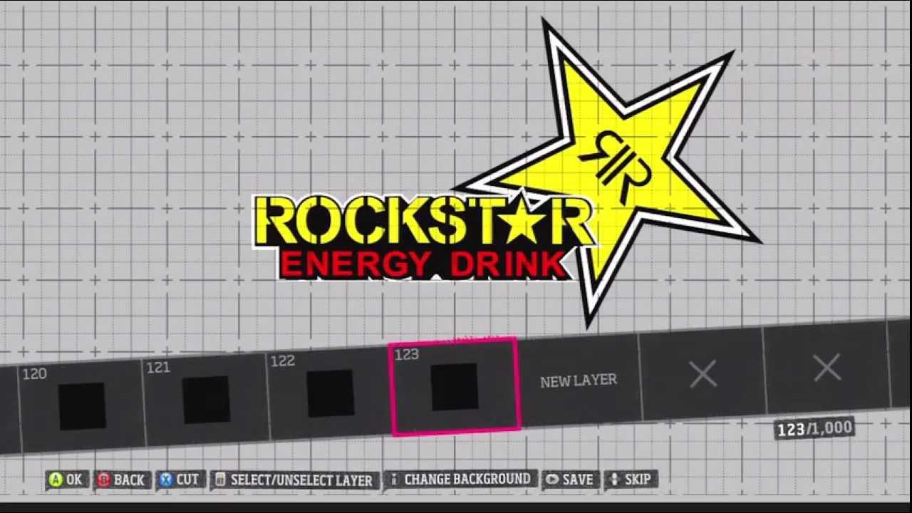 Forza horizon custom vinyl group rockstar energy youtube