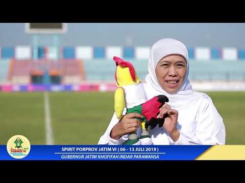 Spirit Porprov Jatim Gubernur Jatim Khofifah Indar Parawansa (Episode 1)