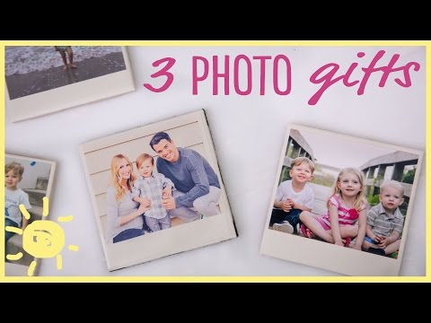 DIY | 3 Easy Photo Gifts (Great for...