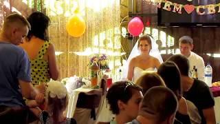 Поздравление от родителей, свидетелей, друзей и история любви на свадьбе 2018 Запорожье