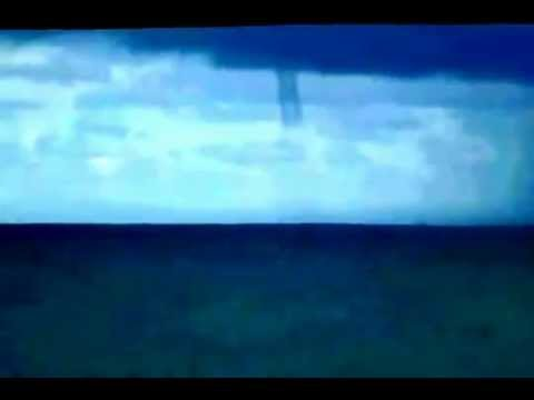 Download Breathtaking..! Waterspout Spotted Off Florida