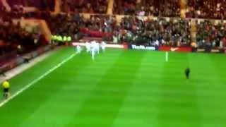 James-ward prowse goal for England U21s v Germany U21s
