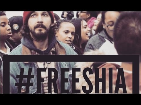 Shia Labeouf Gets Arrested On Live Stream!