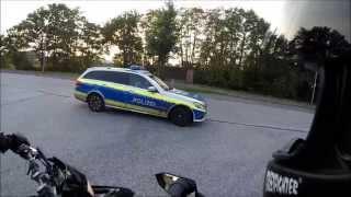 Polizeikontrolle der etwas anderen Art