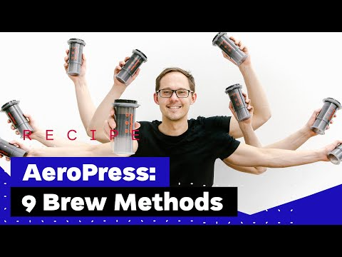 9 Ways To Make Coffee With The AeroPress