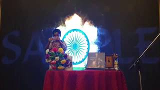 Darsh Malani performed Patriotic Show for Braveheart Marty's & Kargil Legends Families on Hoverboard
