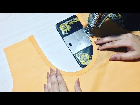 How to cut and stitch Back Neck Perfectly - The Basic