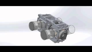видео бесшатунные двигатели внутреннего сгорания
